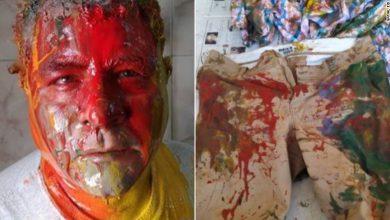Photo of الناشط الحقوقي المصري جمال عيد يقول إن قوات الأمن المصرية ضربته