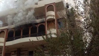 Photo of وفاة والد الفنان إيهاب توفيق في حريق كبير في بيته