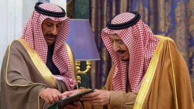 """Photo of العاهل السعودي الملك سلمان بن عبد العزيز  يتسلم قلادة """"أبي بكر الصديق"""""""
